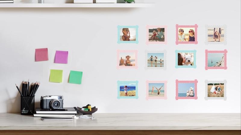 Pareti Con Fotografie : Idee per appendere foto e quadri alle pareti