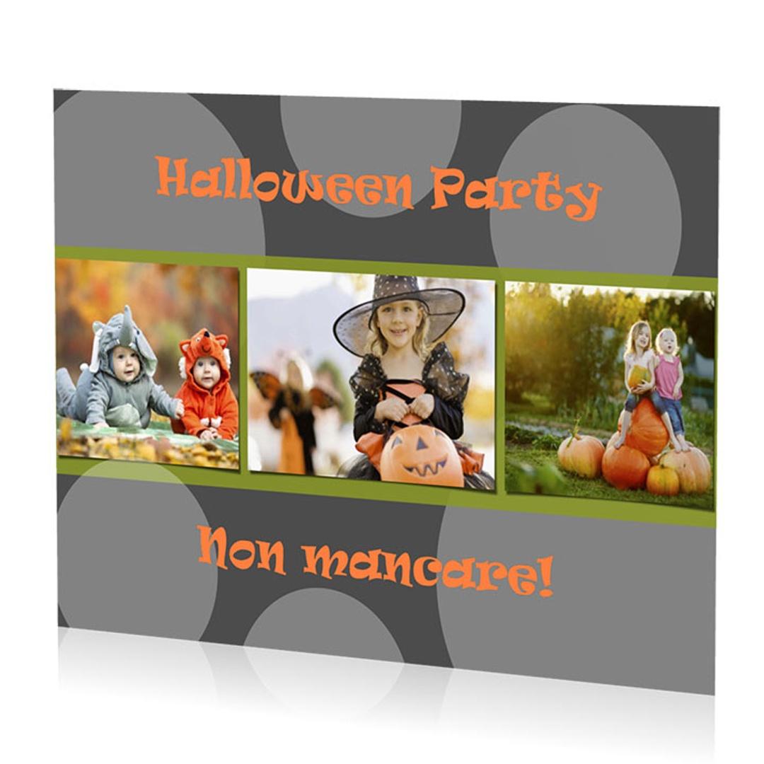 Biglietti Halloween personalizzati