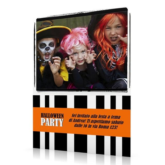 Biglietti Halloween inviti festa