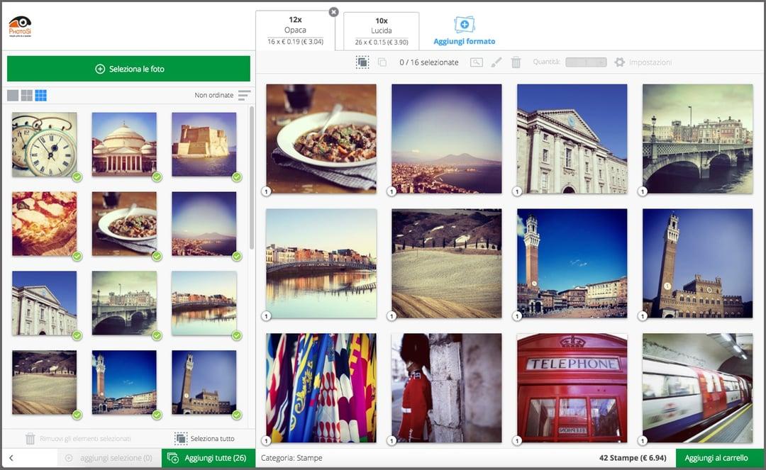 stampare foto Instagram