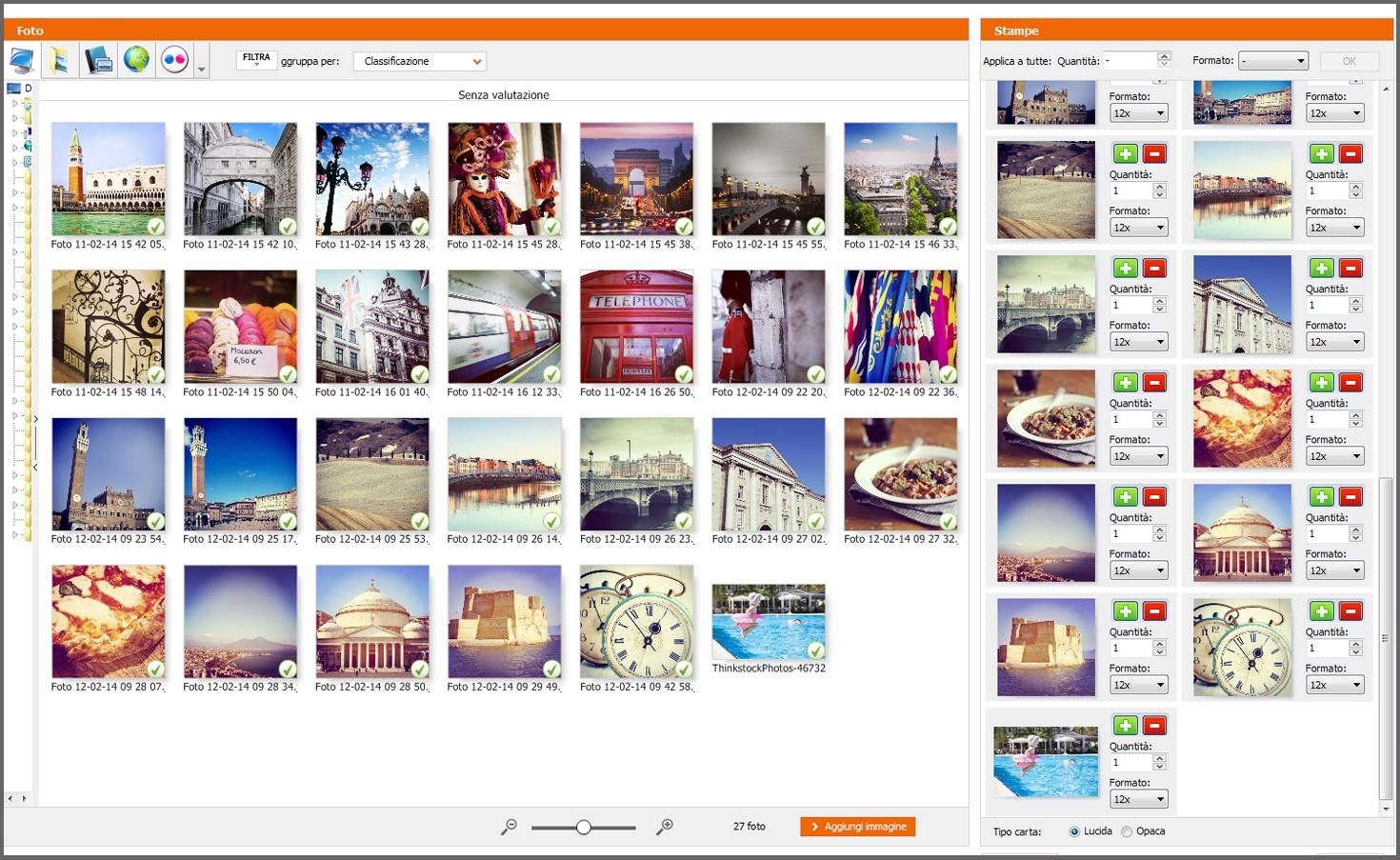 stampare le foto di instagram