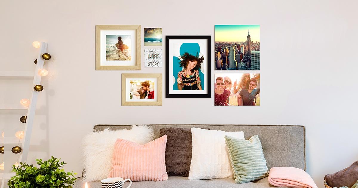 5 idee per appendere foto e quadri alle pareti