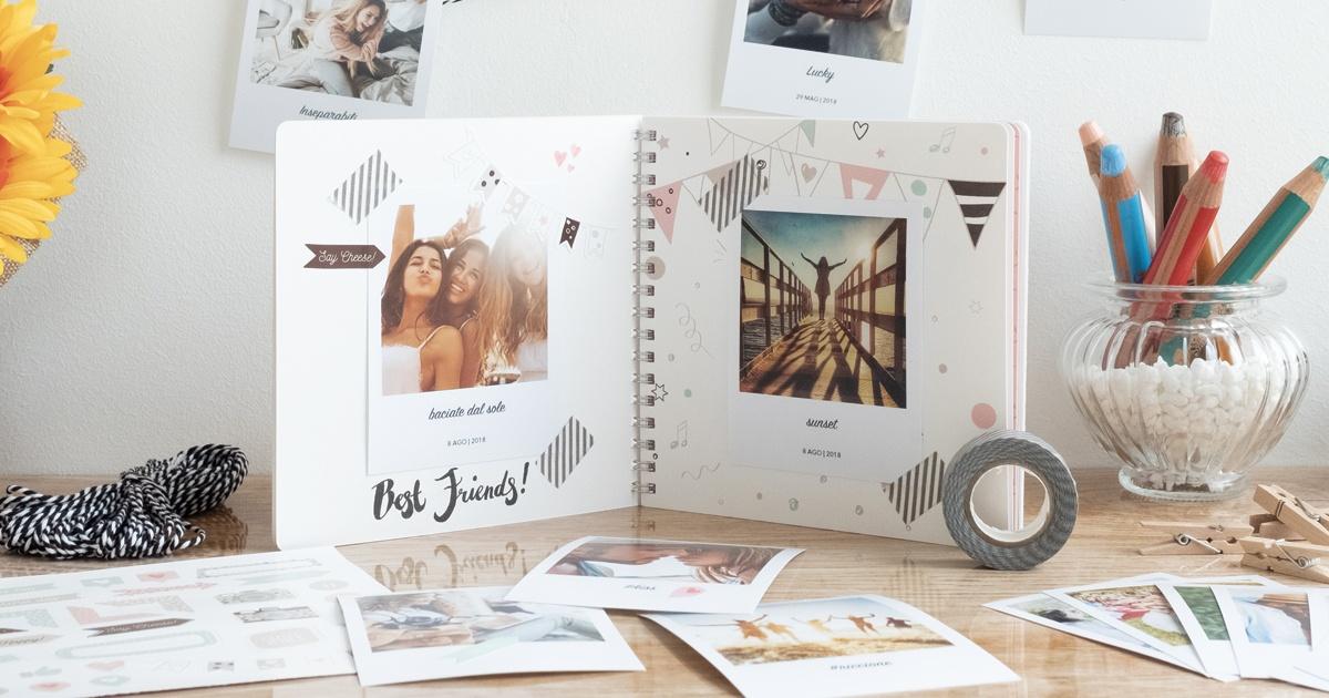 Come creare degli album scrapbooking con le foto dell'estate