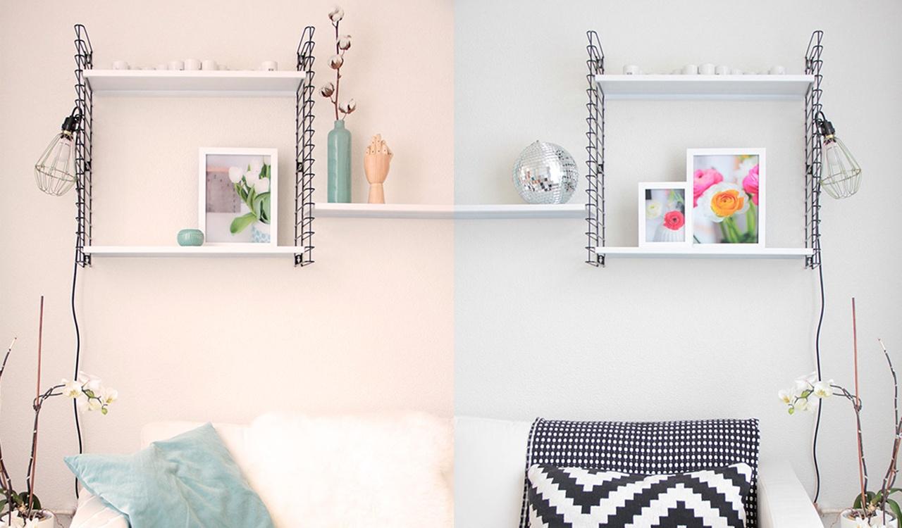Decorare casa con le cornici: tre stili