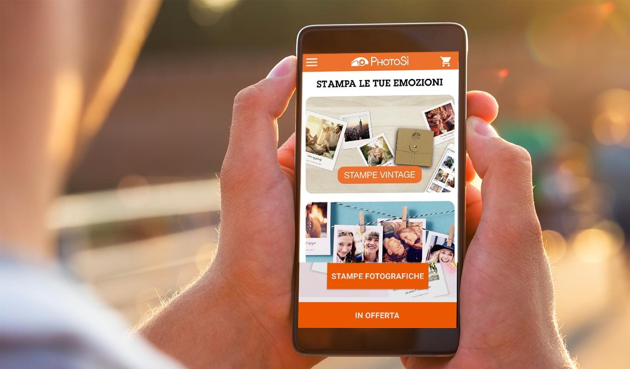 PhotoSì App: come stampare da smartphone le vostre foto